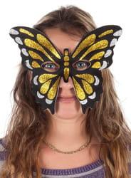 Фото Маска Золотистая бабочка
