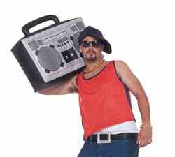 Фото Надувной магнитофон в стиле 90-х