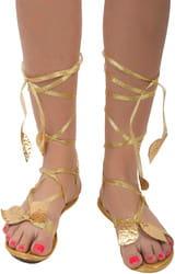 Фото Греческие сандали взрослые