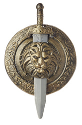 Фото Щит и меч гладиатора (пластик)
