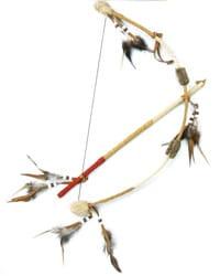Индейский лук и стрелы