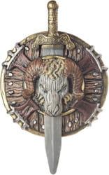 Фото Щит и меч Варвара завоевателя взрослый