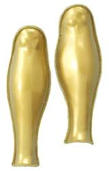 Фото Доспехи на ноги золотые