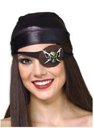 Фото Пиратская повязка на глаз