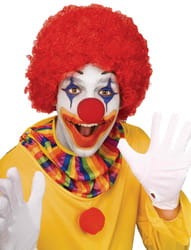 Фото Парик клоунский красный