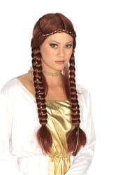 Фото Парик Средневековая принцесса (с косами)