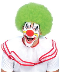 Фото Зеленый клоунский парик взрослый
