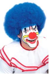 Фото Синий клоунский парик взрослый