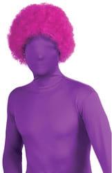 Фото Клоунский парик фиолетовый взрослый