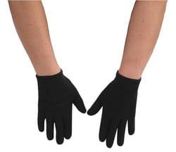 Фото Детские перчатки черные