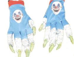 Фото Перчатки дьявольского клоуна взрослые