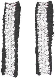 Фото Подвязки серебристо-черные взрослые