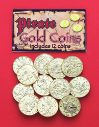 Фото Набор Пиратские монеты
