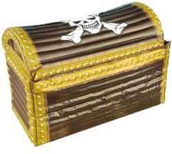 Фото Надувной пиратский сундук