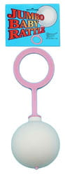 Фото Погремушка розовая