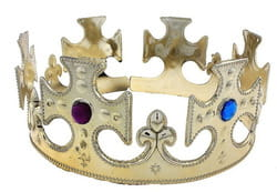 Фото Корона для царя золотая