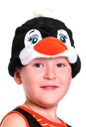Фото Шапочка Пингвинчик детская
