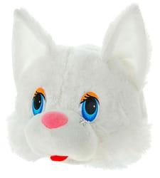 Фото Карнавальная шляпа Кошка (белая) детская