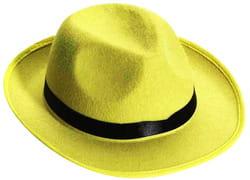 Фото Гангстерская шляпа желтая