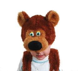 Фото Шапка Медведь детская