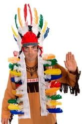 Фото Головной убор вождя племени