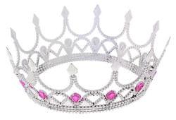 Фото Корона королевы серебряная