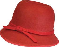 Фото Шляпка в стиле 20-х годов (красная) взрослая