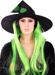 Фото Колпак ведьмы с париком