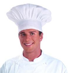 Фото Колпак повара белый взрослый