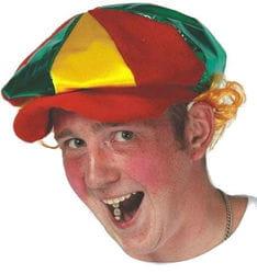 Фото Кепка клоуна с кудряшками