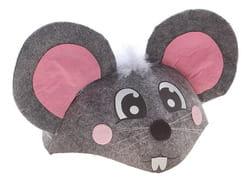 Фото Шляпа карнавальная Мышка взрослая