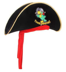 Фото Детская пиратская шляпа Гроза пиратов