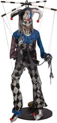 Фото Декорация для Хэллоуина Клоун-марионетка