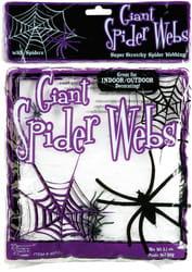 Фото Паутина для декораций Ядовитый паук
