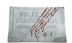 Фото Декорация на Хэллоуин Надгробная плита Фредди Крюгера