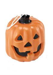 Фото Декорация для Хэллоуина Тыква со светящимися глазами 16 см