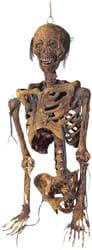 Фото Подвесной труп скелета