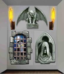 Фото Настенные декорации дома с привидениями