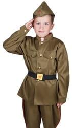 Фото Костюм гимнастерка на 9 мая детский