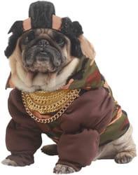Фото Костюм для собаки Костюм для собак Рэпер