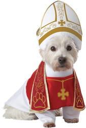 Фото Костюм для собаки Папа Римский