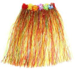 Фото Юбка гавайская многоцветная взрослый