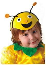 Фото Шапка Пчела детская