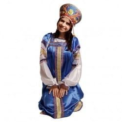 Фото Костюм народный Василиса (василёк) детский