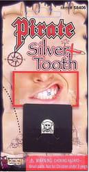 Фото Пиратский серебряный зуб
