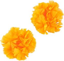 Фото Гавайские браслеты оранжевые