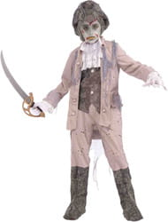 Фото Костюм Зомби-капитан пиратов детский