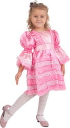 Фото Костюм Розовое платье куклы детский