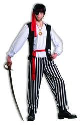 Фото Костюм пирата Матиаса большого размера взрослый мужской взрослый