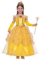Фото Костюм Золотая принцесса Белль детский